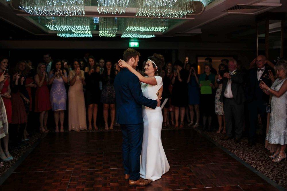 First dance at Armathwaite Hall wedding