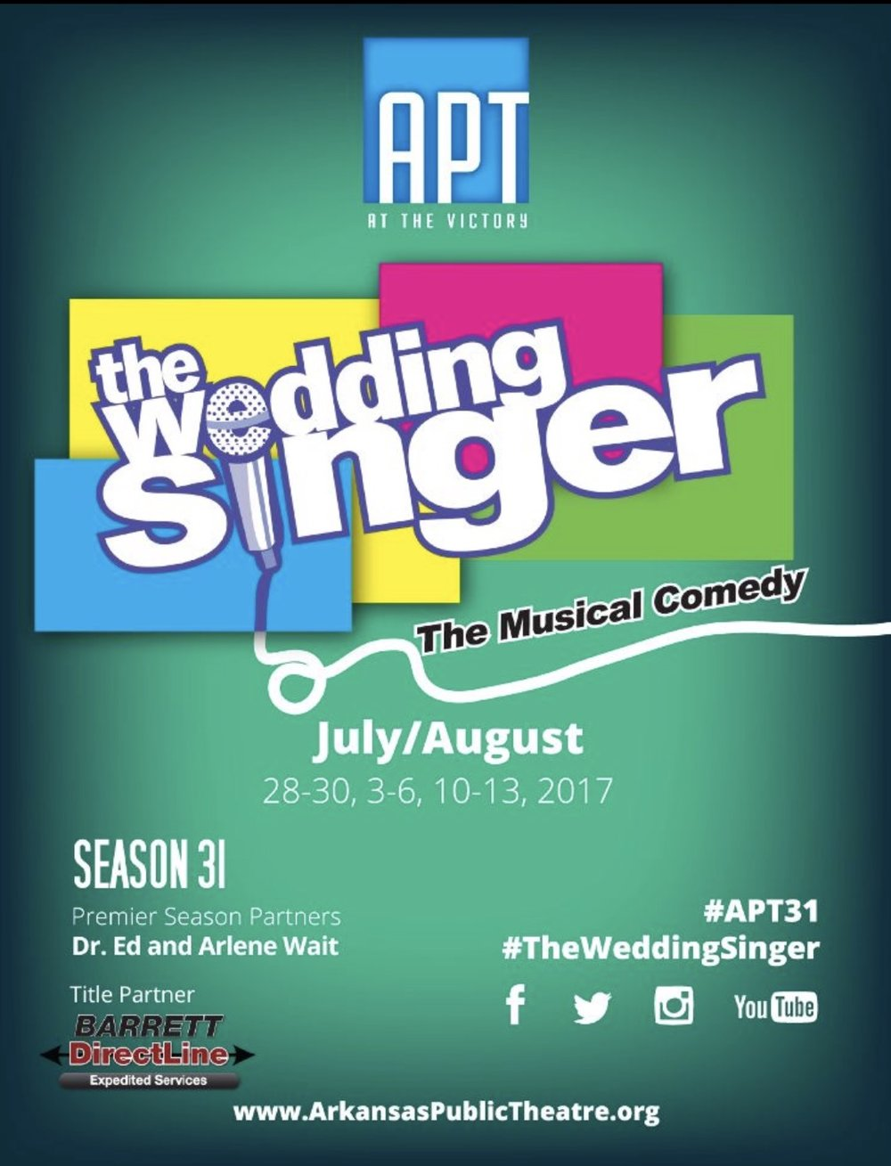 Season 31 | THE WEDDING SINGER