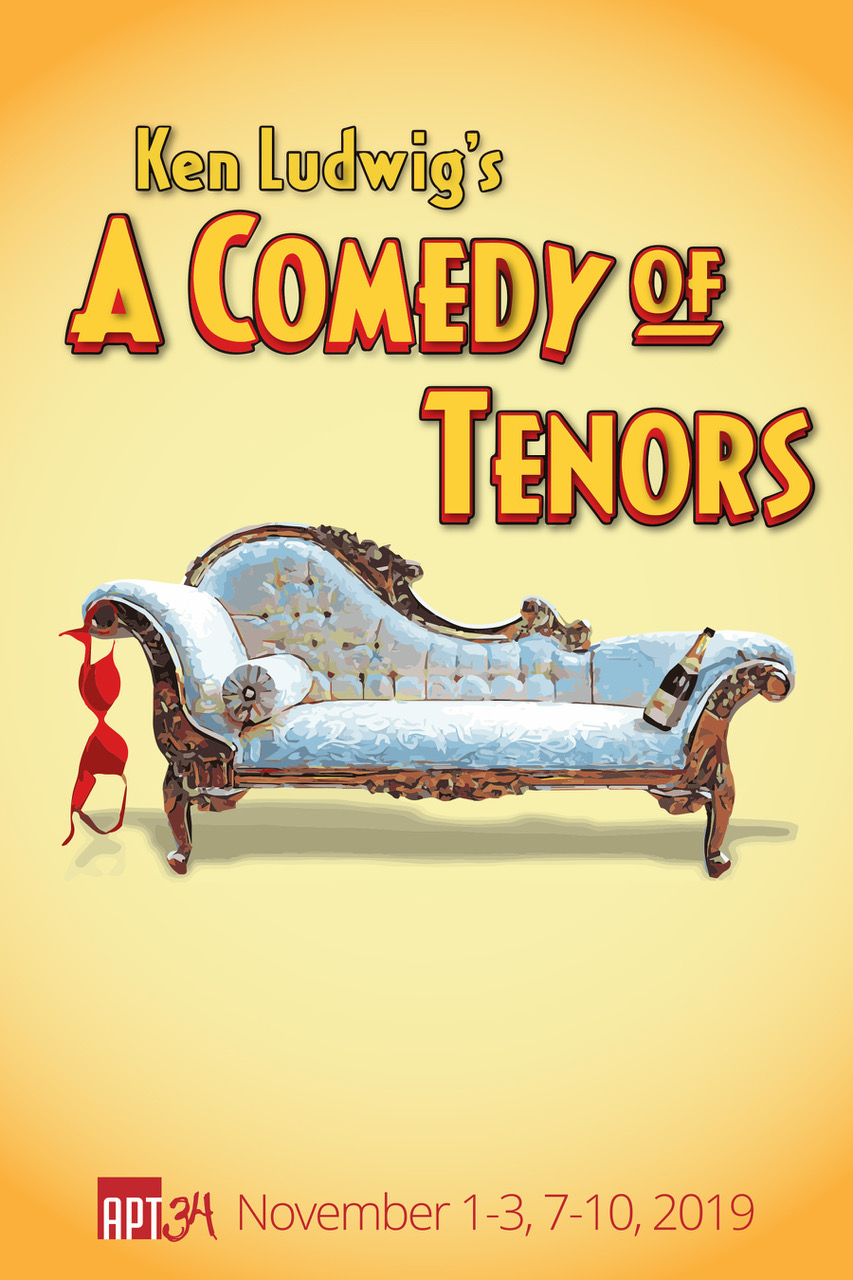 A Comedy of Tenors - In this hilarious sequel to Lend Me a Tenor, we have one hotel suite, four tenors, two wives, three girlfriends, and a soccer stadium filled with screaming fans. What could possibly go wrong? It's 1930s Paris and the stage is set for the concert of the century – as long as producer Henry Saunders can keep Italian superstar Tito Merelli and his hot-blooded wife, Maira, from causing runaway chaos. Prepare for an uproarious ride, full of mistaken identities, bedroom hijinks, and madcap delight.