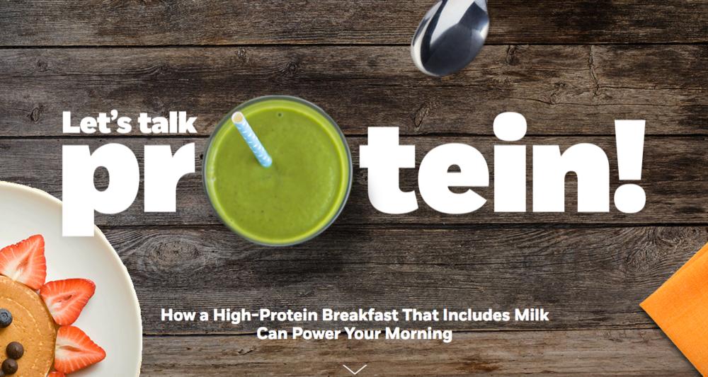 MilkPEP: Protein Power-Up