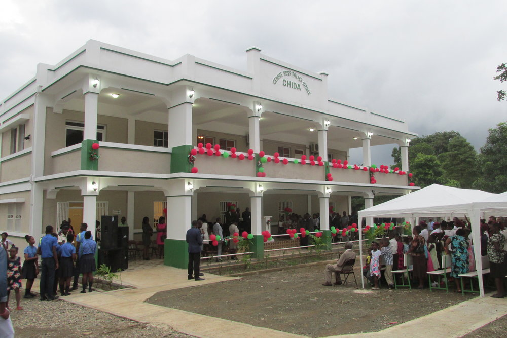 Dedication Day festivities at the newly opened CHIDA Hospital in Cap Haitien, Haiti
