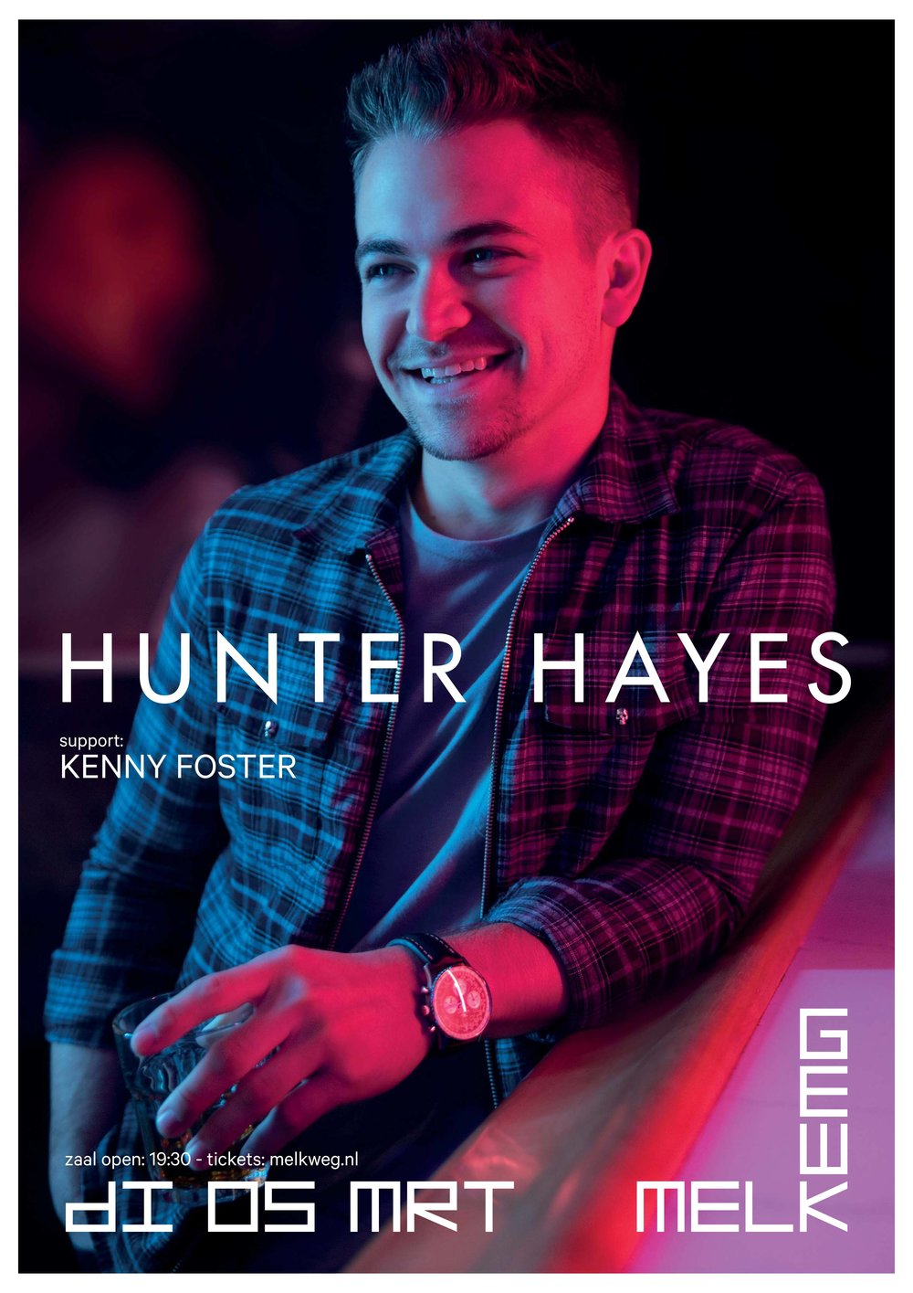 Kenny is excited to announce that he will be providing support for Hunter Hayes at the historic Melkweg in Amsterdam during his European run this March. Tickets and further info can be found  here .