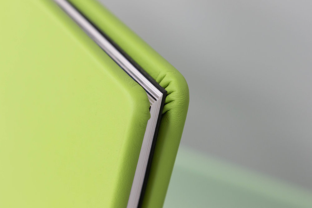 Apple Green Leather