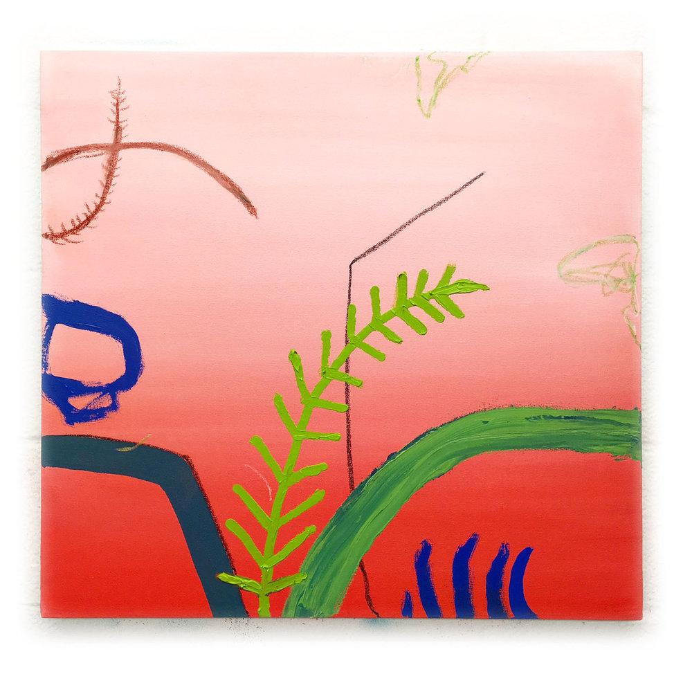Adam G. Mignanelli, Red Sky, Oil on Canvas, 29x29in_AGM010317 copy.jpg