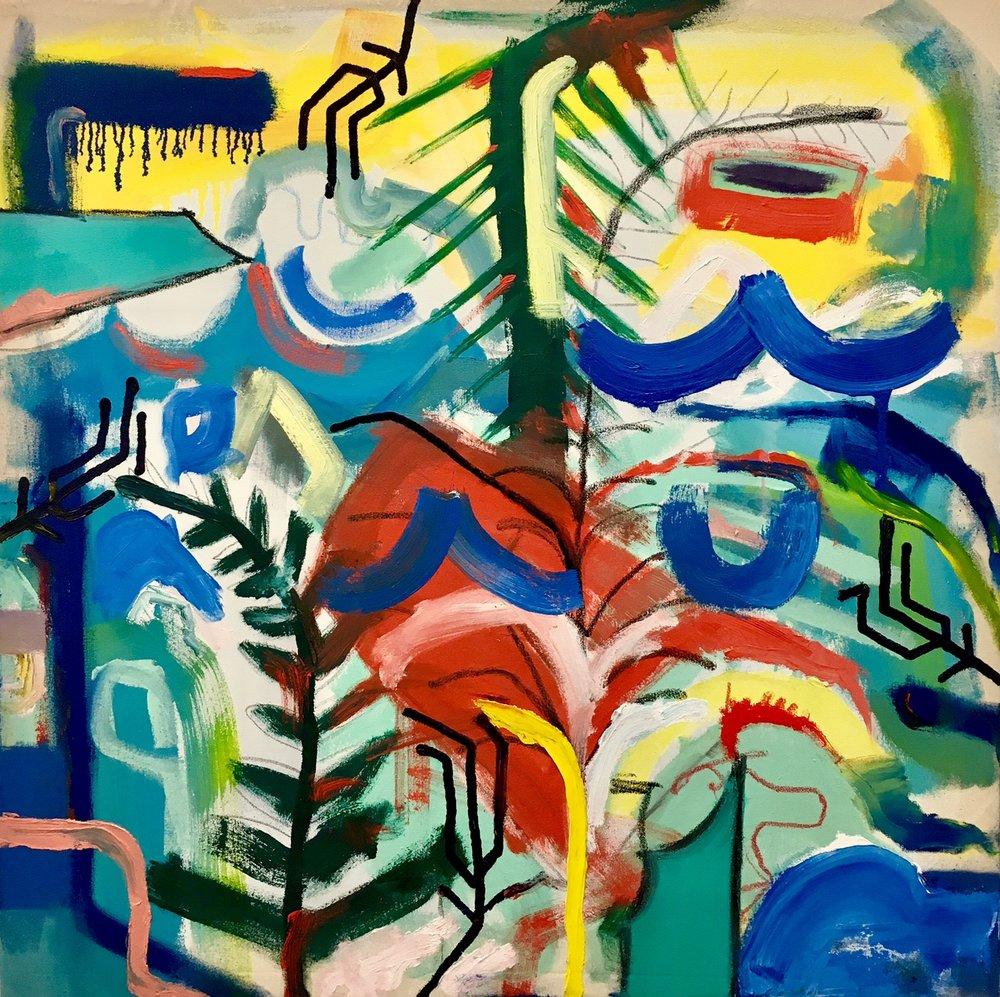 Adam G. Mignanelli, impact, Oil on Canvas, 42x42in_AGM010517.jpg.jpg