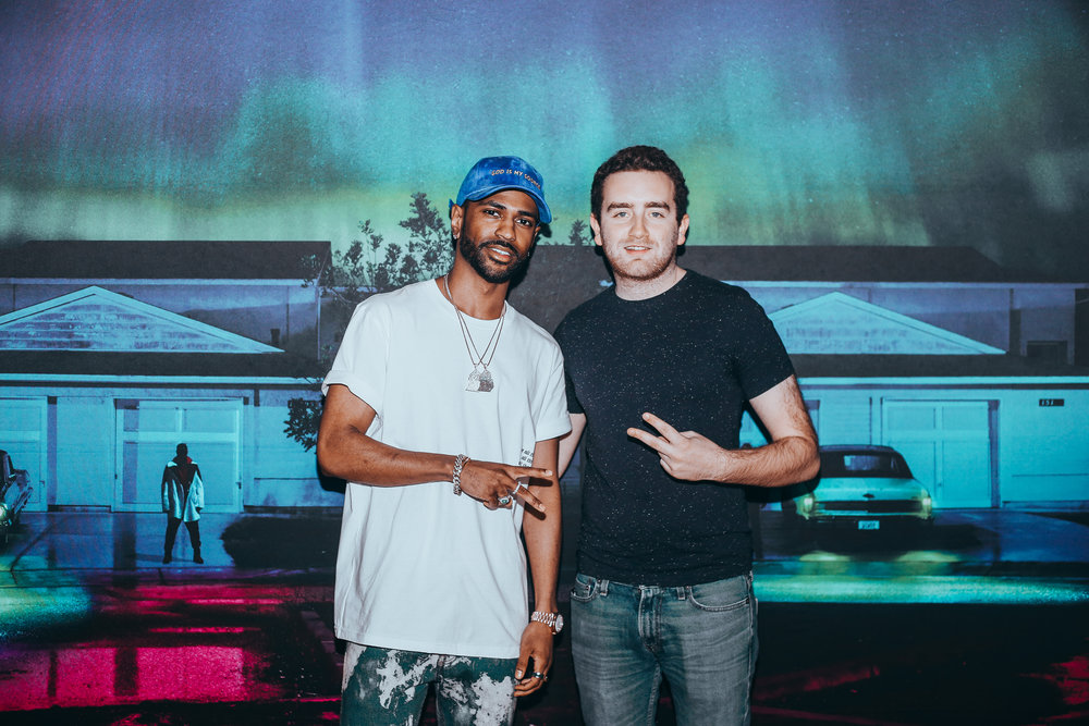 """That sh*t is crazy man! Keep doing your thing.""   -  Big Sean"