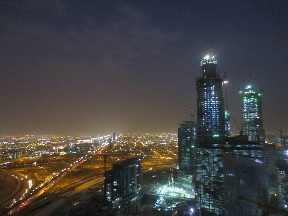 King Abdullah Financial District, Saudi Arabien 2014
