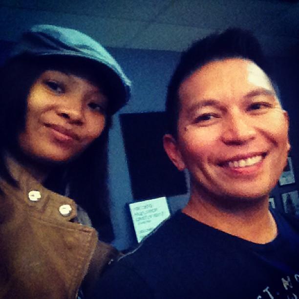 Writing with songwriter Aileen de la Cruz