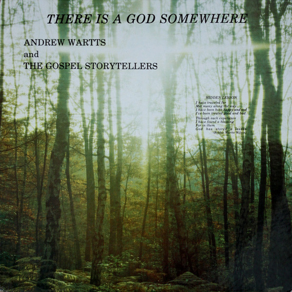 Andrew Wartts And The Gospel Storytellers - Peter & John (Superfly Records).jpg