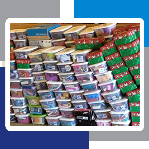 Grace Point is a collection point for Operation Christmas Child