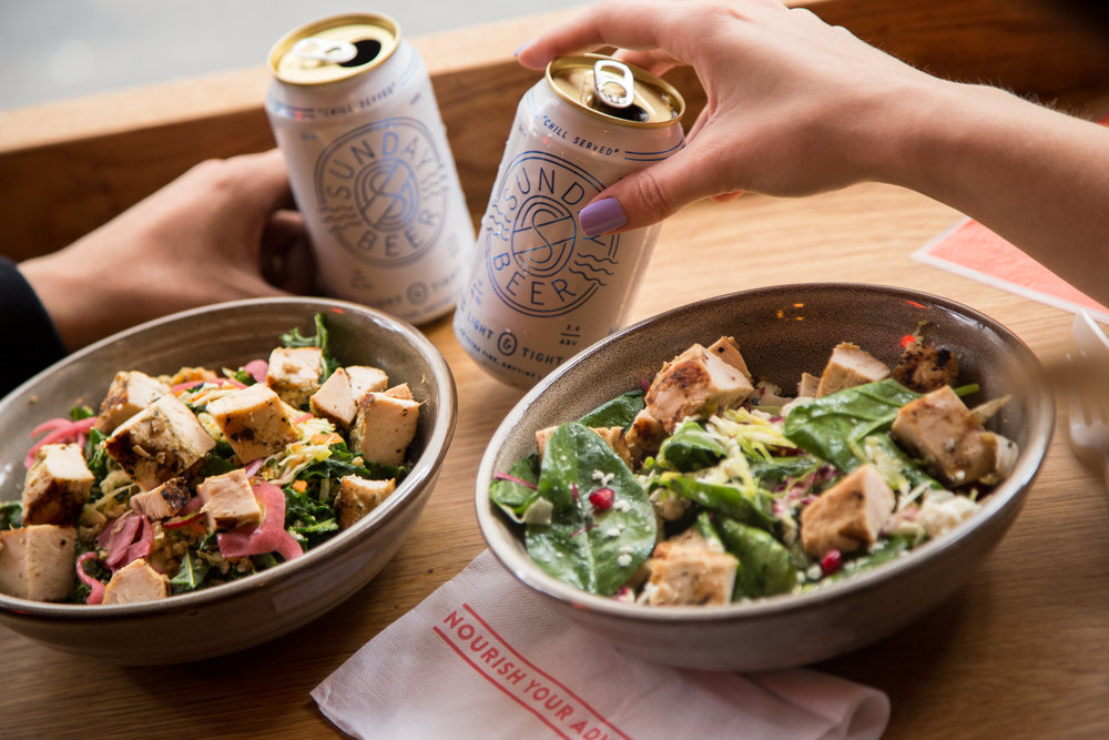 1% For The Planet Happy Hour Fields Good Chicken and Sunday Beer Co. Invite You to Toast the Spring Season Together! -