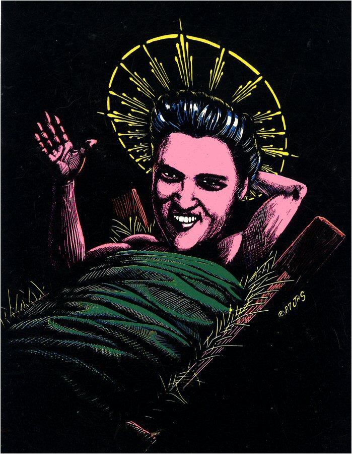 Elvis in the Manger