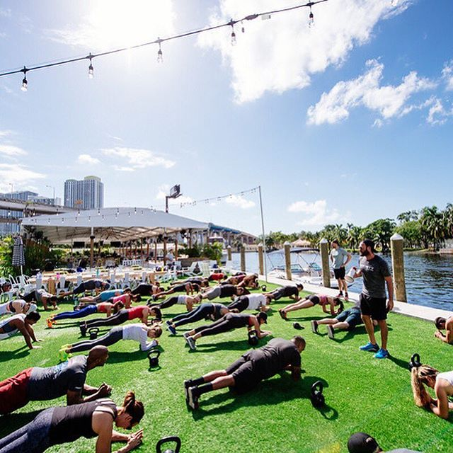 TOMORROW!!! Join us at @wharfmiami for a FREE bootcamp class! Class starts at 10:45AM! Reserve your spot by clicking the link in our bio!!