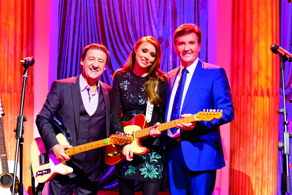 Declan Nerney & his niece Una Foden of The Saturdays with Daniel (Daniel & Friends, RTE).jpg