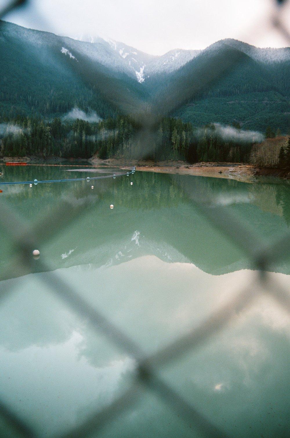 Baker Lake Dam, Ektar 100
