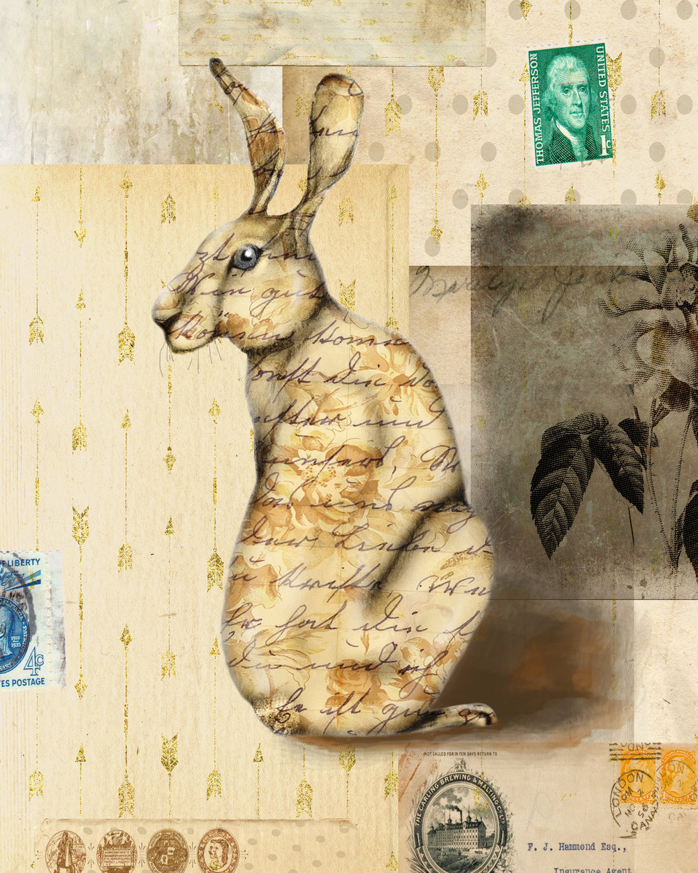 Rabbit Collage