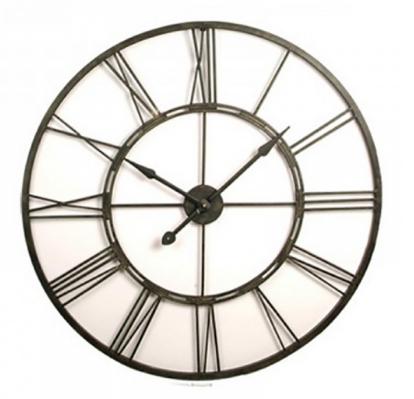 Frame Clock - Large 101cm Black
