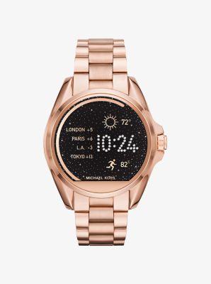 Michael Kors Access Ladies Bradshaw Smart Watch - Rose Gold