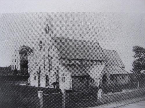 St Thomas Church in 1860