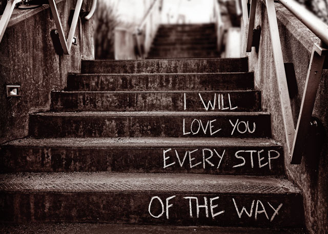 How far have you come this year?  If these steps are 'the way home', where might they lead?  How do these words make you feel?  © ROOTS for Churches Ltd 2002-2017. Reproduced with permission.