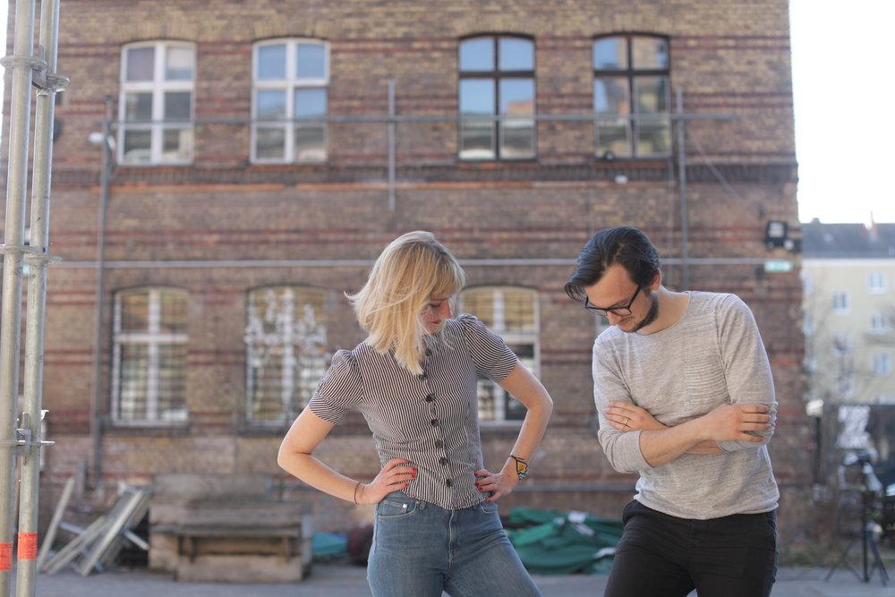 Simone Brannahl und Philipp Rückriem