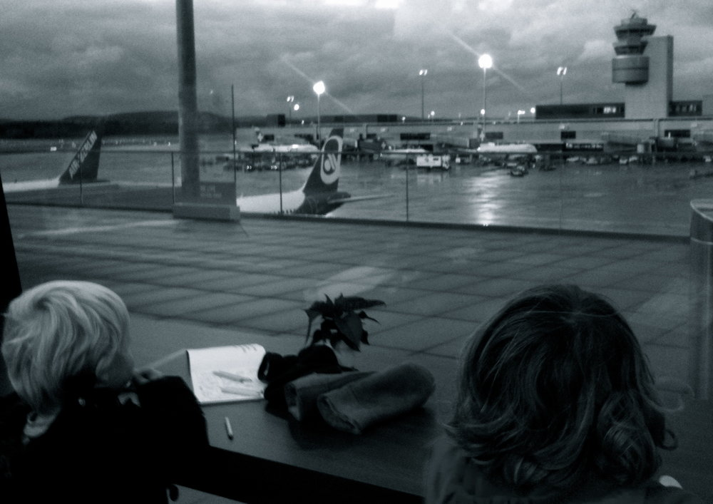Kids at Zurich Airport