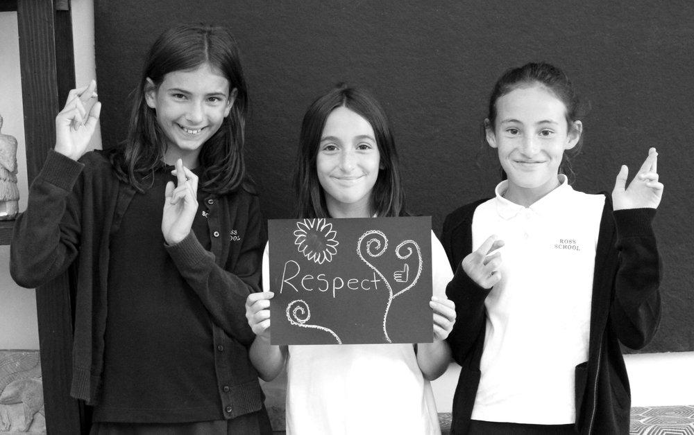 <b>RESPECT</b>