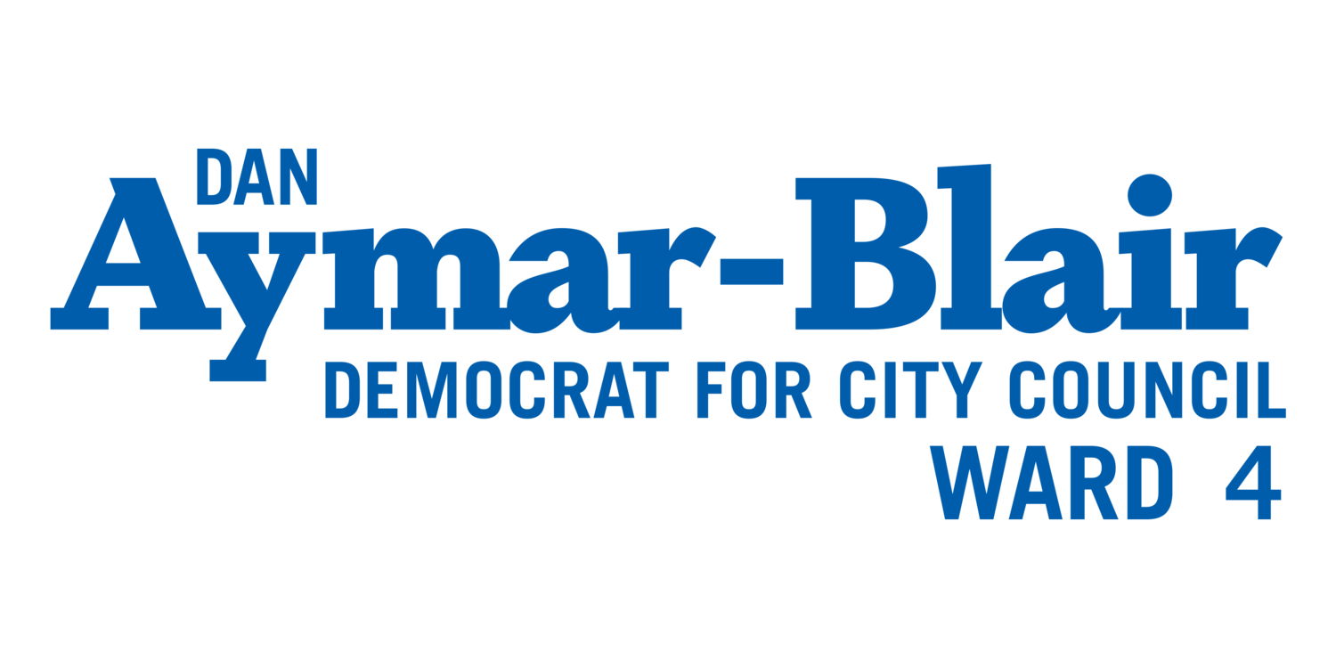 Dan Aymar-Blair for Beacon City Council Ward 4