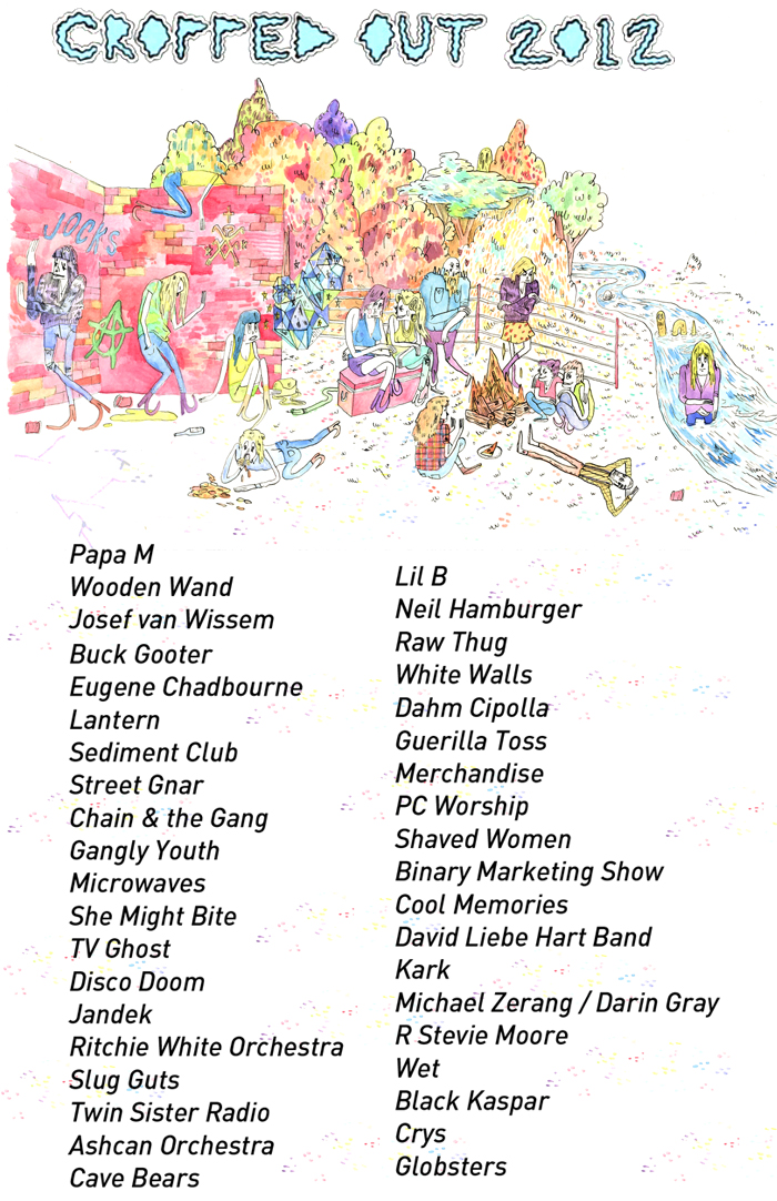 Cropped Out Festival 2012 Poster by  Mikie Poland