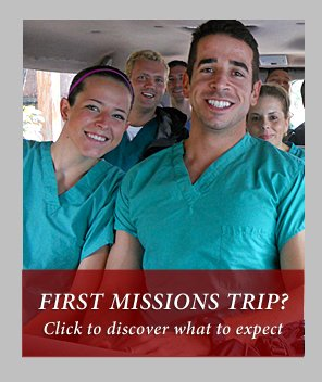 First Missions Trip?