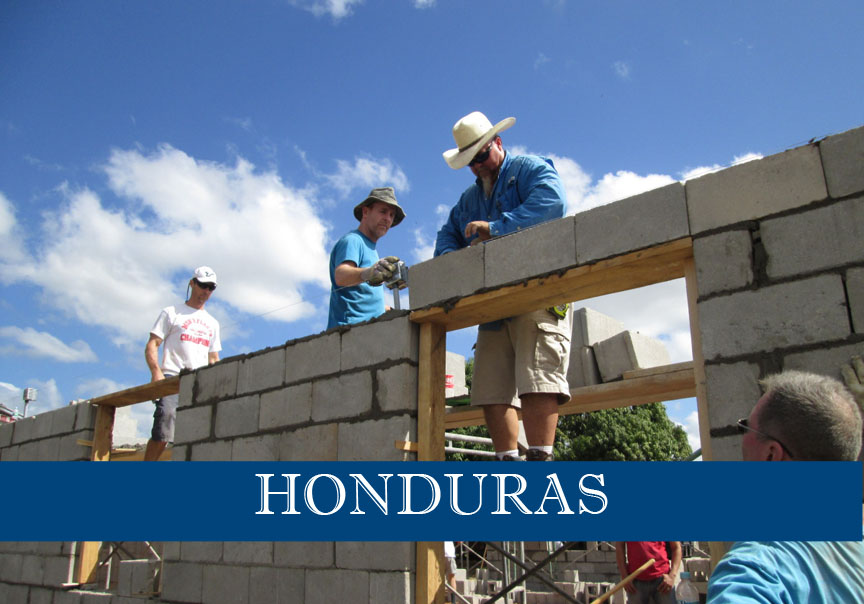 Honduras construction trip