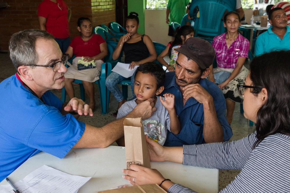 Honduras Med work