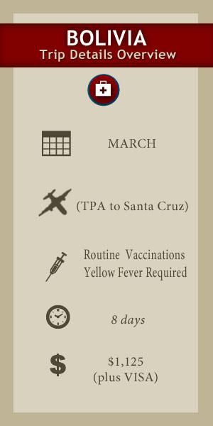 2019 Bolivia Medical Students