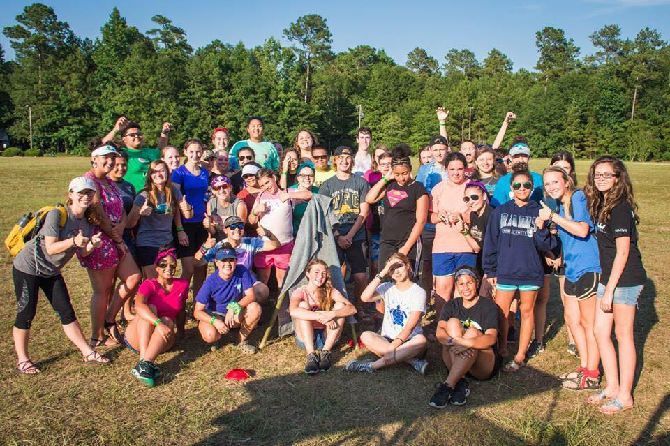 Campers at Camp Grace