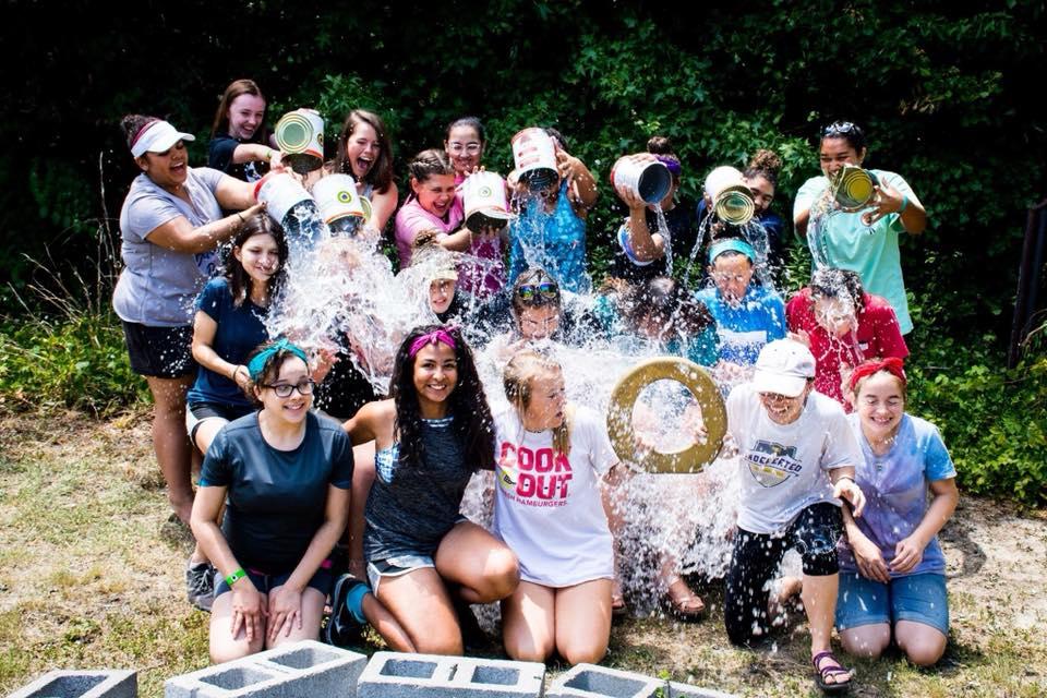 Water Fun at Camp Grace