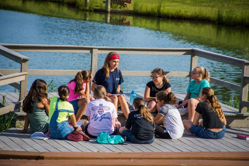 Bible Study at Camp Grace