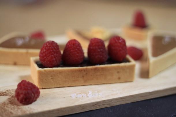 Chocolate & Raspberry Tarts