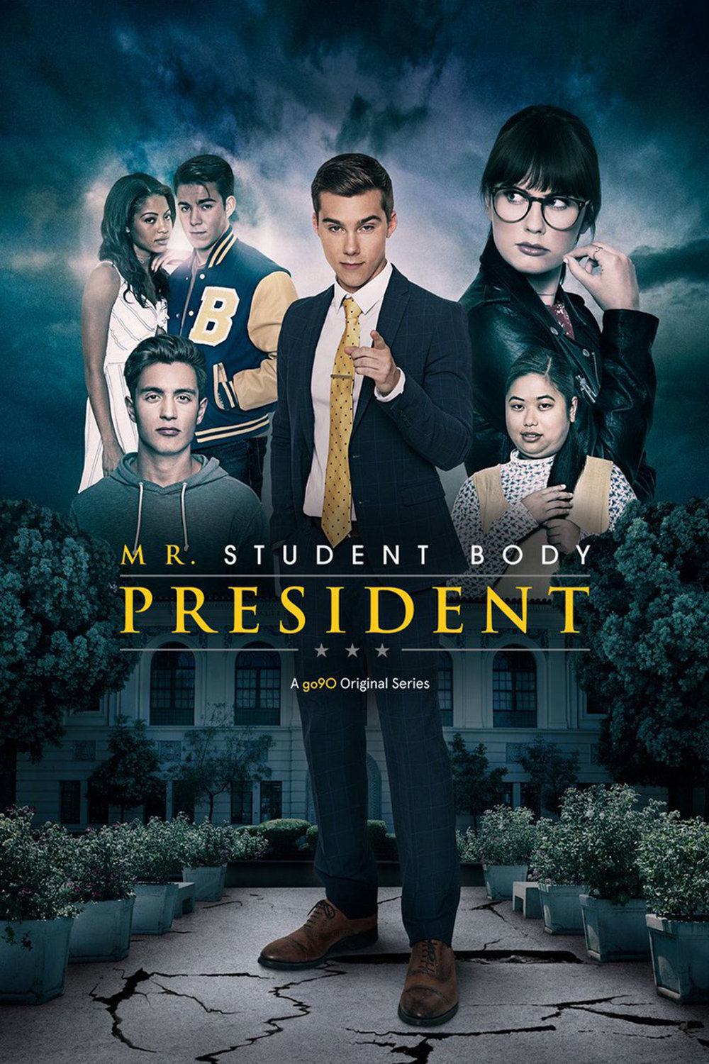 MR. STUDENT BODY PRESIDENT   TV Series, Comedy (Season 2-4)  Studio/Network - New Form/Go90  Creators - Ryan Hunter, Jack Ferry  Editor - Waldemar Centeno  *2017 Streamys - Winner Best Directing, Ensemble Cast / Nominated Best Comedy, Acting  2018 Streamys - Nominated Best Directing, Acting