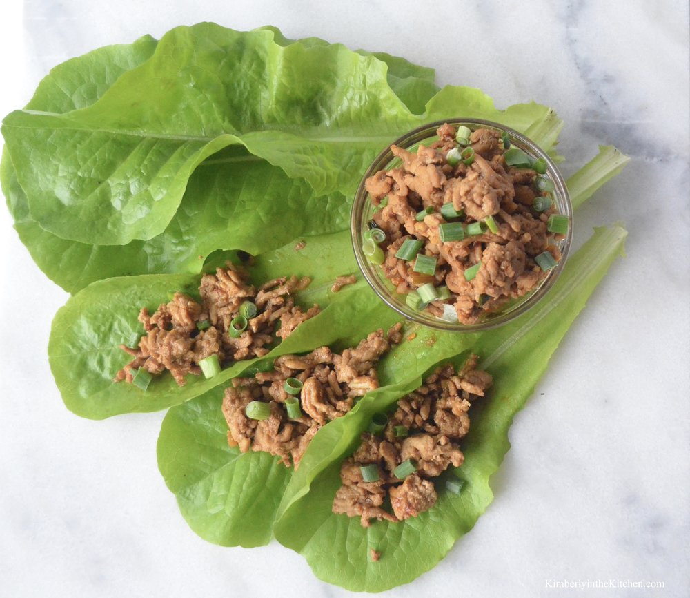 Chicken Lettuce Wraps 3