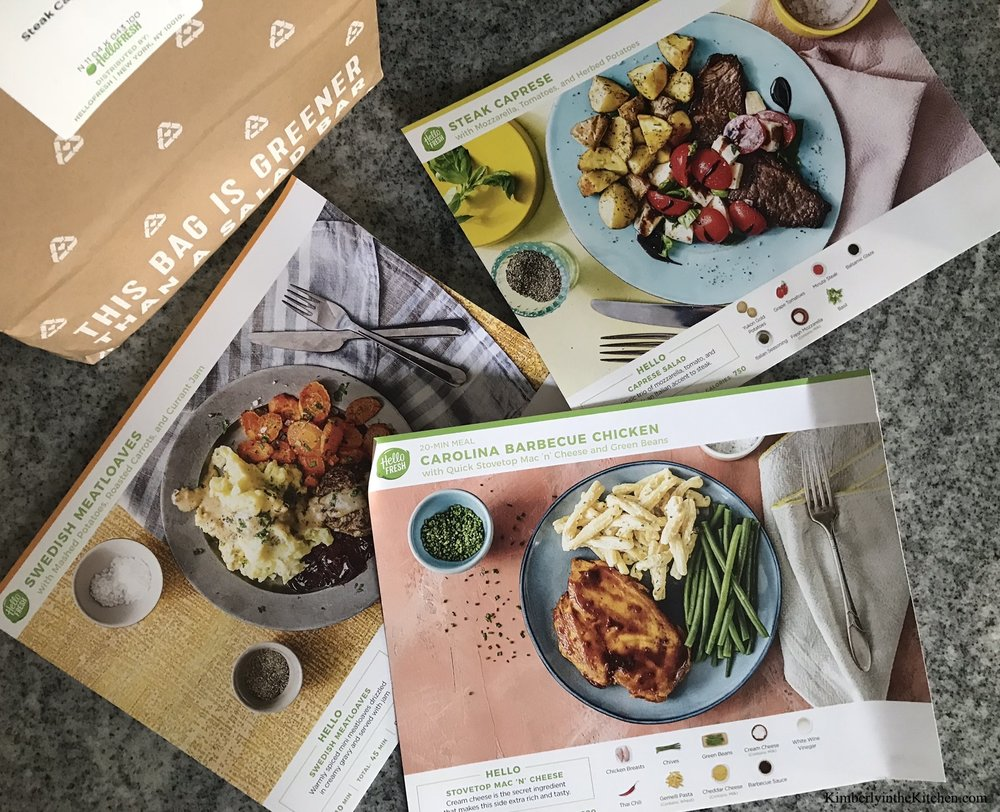 Meal Kit Delivery Service  Hellofresh Box Pack