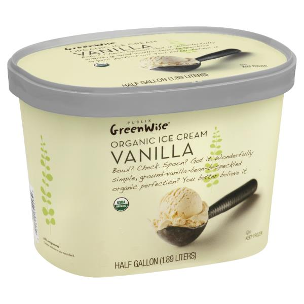 Publix Greenwise Ice Cream