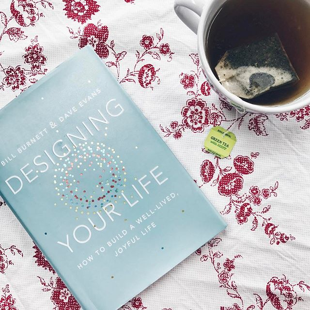 Sisters are the best. They swing in and let them snuggle their babies, hand over a soy chai latte, and know just what book you need. I'm one lucky little sister today. Now, it's time to get down to designing my life. #sisters #designyourlife