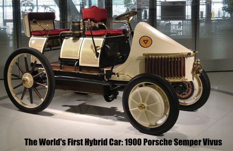 - The P1 debuted on the streets of Vienna on July 26, 1898, and competed in the international motor-vehicle exhibition in Berlin the next year. Porsche and three passengers took part in a 24-mile race against other electric cars.