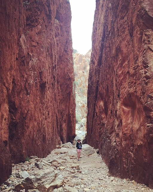 Standley Chasm NT