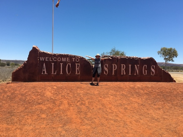 Yep, Alice Springs