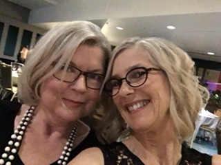 I caught up with some long distance author mates at the 2017 Romance Writers of Australia Conference in Brisbane - here with Louise Reynolds: fun, quirky stories, she's even better in person!