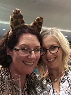 I have coffee and talk writing with romance author Michelle Douglas in Newcastle but we drank cocktails at the 2017 Romance Writers of Australia Conference, Brisbane.