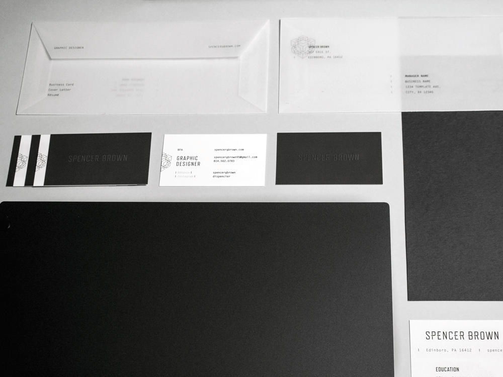 Business Cards and Envelopes
