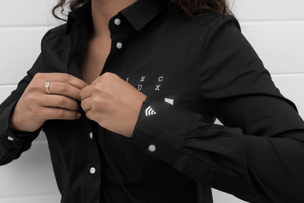 Lux. Button-Up