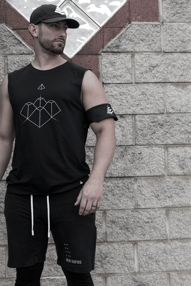 Dragon's Teeth Tank | Lux. Sweatshirts | Lux. Bandana
